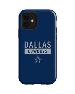 Dallas Cowboys Blue Performance Series iPhone 12 Case