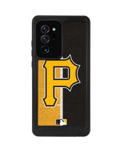 Pittsburgh Pirates Split Galaxy Note20 Ultra 5G Waterproof Case