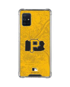 Pittsburgh Pirates Home Turf Galaxy A51 5G Clear Case
