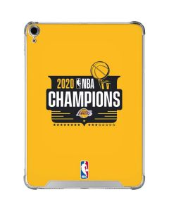 2020 NBA Champions Lakers iPad Air 10.9in (2020) Clear Case