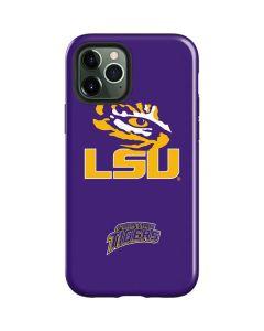 LSU Tiger Eye Purple iPhone 12 Pro Max Case