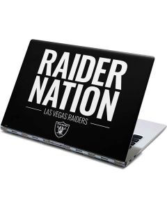 Las Vegas Raiders Team Motto Yoga 910 2-in-1 14in Touch-Screen Skin
