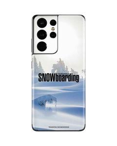 TransWorld SNOWboarding Trees Galaxy S21 Ultra 5G Skin