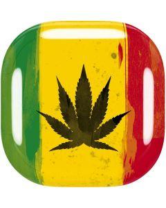 Marijuana Rasta Distressed Galaxy Buds Live Skin