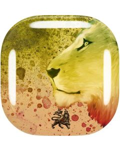 Profile of the Lion of Judah Galaxy Buds Live Skin