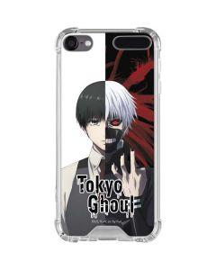 Ken Kaneki Split iPod Touch (5th-6th-7th Gen) Clear Case