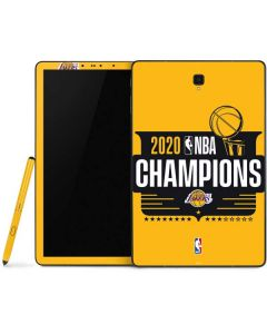2020 NBA Champions Lakers Samsung Galaxy Tab Skin