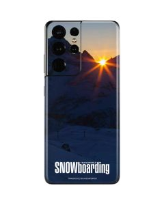 TransWorld SNOWboarding Dark Galaxy S21 Ultra 5G Skin