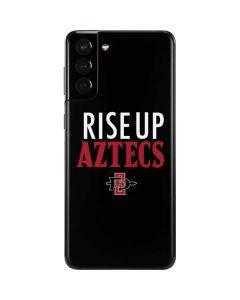 Rise Up Aztecs Galaxy S21 Plus 5G Skin