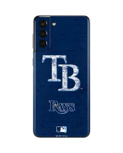 Tampa Bay Rays - Solid Distressed Galaxy S21 Plus 5G Skin