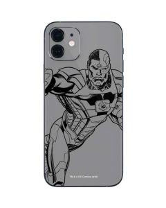 Cyborg Comic Pop iPhone 12 Mini Skin
