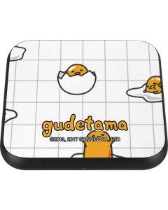Gudetama Grid Pattern Wireless Charger Single Skin