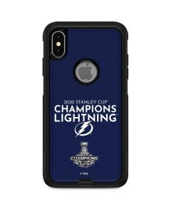 2020 Stanley Cup Champions Lightning Otterbox Commuter iPhone Skin