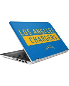 Los Angeles Chargers Blue Performance Series HP Pavilion Skin
