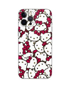 Hello Kitty Multiple Bows Pink iPhone 12 Pro Max Skin