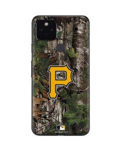 Pittsburgh Pirates Realtree Xtra Green Camo Google Pixel 5 Skin