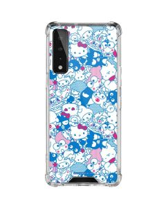 Hello Sanrio Blue Blast LG Stylo 7 5G Clear Case