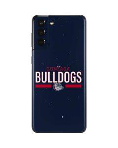 Gonzaga Bulldogs Stripe Galaxy S21 Plus 5G Skin