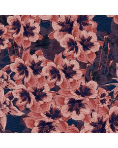 Dark Tapestry Floral PS4 Pro/Slim Controller Skin