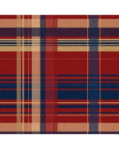 Red and Blue Plaid Apple TV Skin