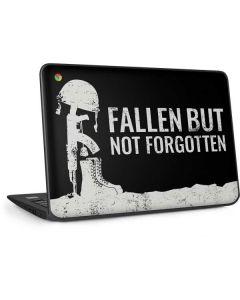 Fallen But Not Forgotten HP Chromebook Skin
