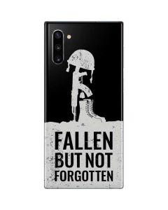 Fallen But Not Forgotten Galaxy Note 10 Skin