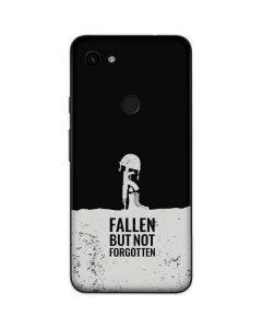 Fallen But Not Forgotten Google Pixel 3a Skin