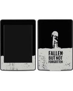 Fallen But Not Forgotten Amazon Kindle Skin