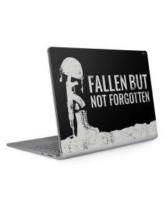 Fallen But Not Forgotten Surface Book 2 15in Skin