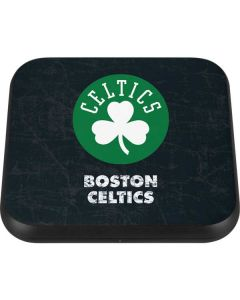 Boston Celtics Black Secondary Logo Wireless Charger Single Skin