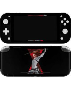 Black Widow Fighting Nintendo Switch Lite Skin