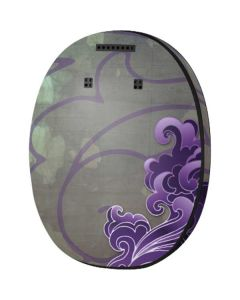 Purple Flourish MED-EL Rondo 3 Skin