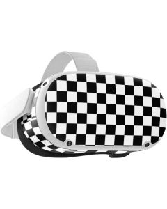 Black and White Checkered Oculus Quest 2 Skin
