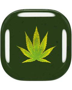 Marijuana Leaf Light Green Galaxy Buds Live Skin