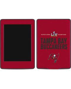 Super Bowl LV Champions Tampa Bay Buccaneers Amazon Kindle Skin
