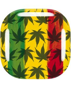 Marijuana Rasta Pattern Galaxy Buds Live Skin