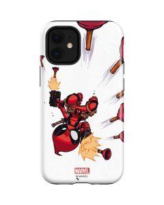 Deadpool Baby Fire iPhone 12 Mini Case