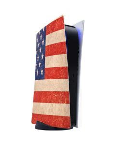 Distressed American Flag PS5 Digital Edition Console Skin