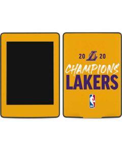 2020 Champions Lakers Amazon Kindle Skin
