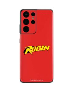Robin Official Logo Galaxy S21 Ultra 5G Skin