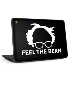 Feel The Bern Outline HP Chromebook Skin