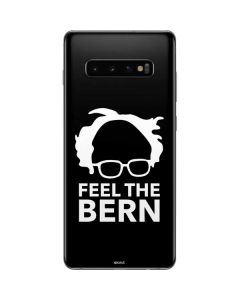 Feel The Bern Outline Galaxy S10 Plus Skin