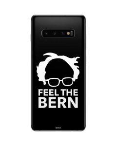Feel The Bern Outline Galaxy S10 Plus Skin