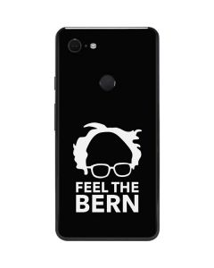 Feel The Bern Outline Google Pixel 3 XL Skin