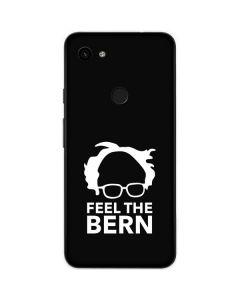 Feel The Bern Outline Google Pixel 3a Skin