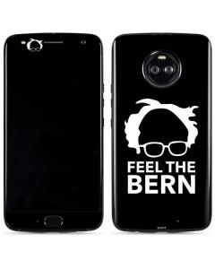 Feel The Bern Outline Moto X4 Skin