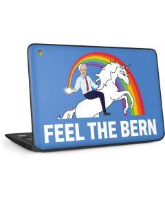 Feel The Bern Unicorn HP Chromebook Skin