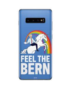 Feel The Bern Unicorn Galaxy S10 Plus Skin