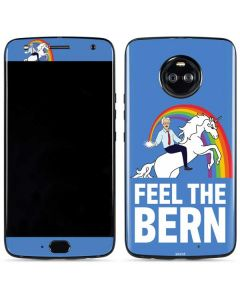 Feel The Bern Unicorn Moto X4 Skin