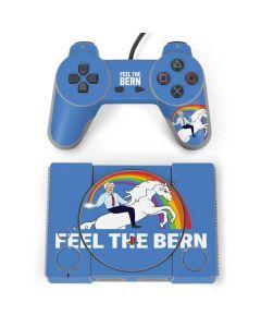 Feel The Bern Unicorn PlayStation Classic Bundle Skin